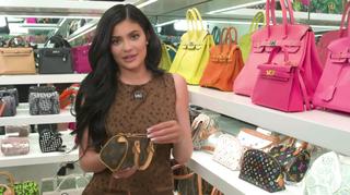 124387ab51c607 Kylie Jenner Shows Off Stormi Webster's $27K Bag - Kylie Jenner ...