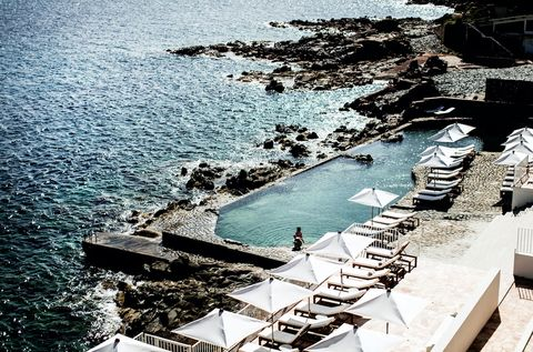 Water, Swimming pool, Sea, Architecture, Vacation, Photography, Tourism, Stairs, Leisure, Coast,