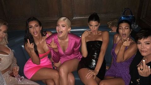433ac96e The Kardashians unfollow model who collapsed at Kylie Jenner's 21st  birthday party