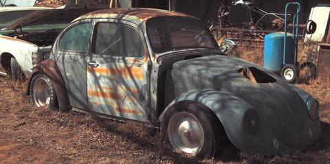 Barn Find Cars >> Rural Texas Is Full Of Hidden Vintage Barn Find Gems