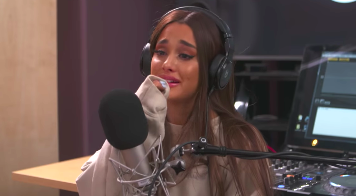 Image result for ariana grande sad