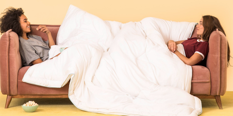 I Tried the Weighted Blanket Celebs Are Obsessed With and Now I Cant Sleep Without It