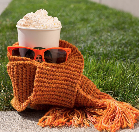 Crochet, Orange, Knitting, Wool, Textile, Headgear, Food, Hat, Thread, Cup,