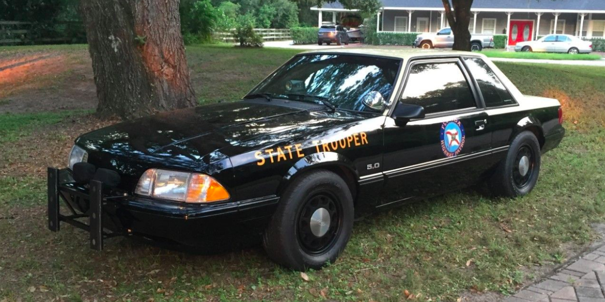 Rule the Road With This Ex-Highway Patrol Fox-Body Mustang
