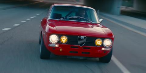 Land vehicle, Vehicle, Car, Alfa romeo 105 series coupes, Alfa romeo, Regularity rally, Classic car, Coupé, Alfa romeo alfasud, Alfa romeo gta,