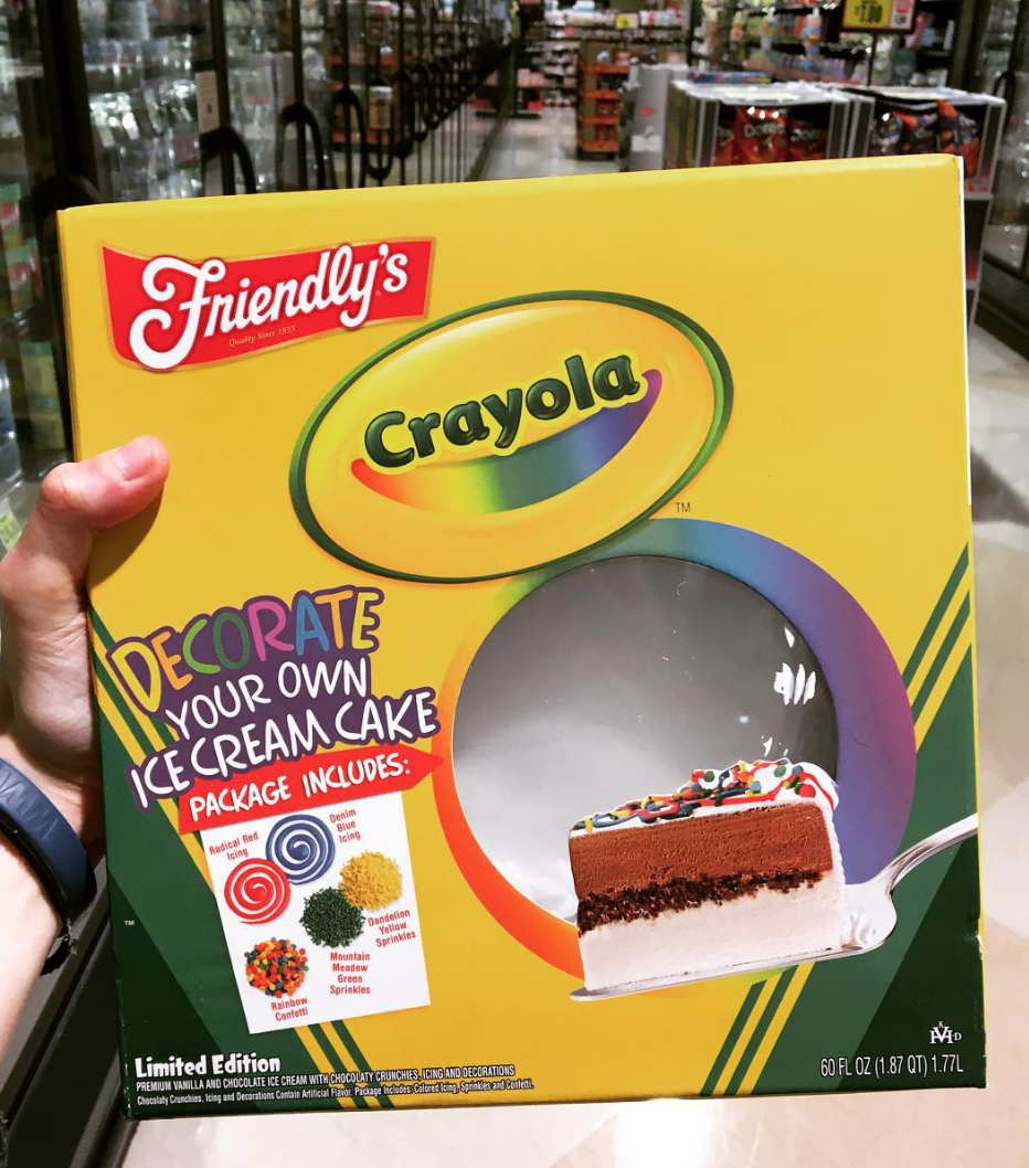 Crayola Made An Ice Cream Cake You Can Decorate, And It\'s Perfect ...