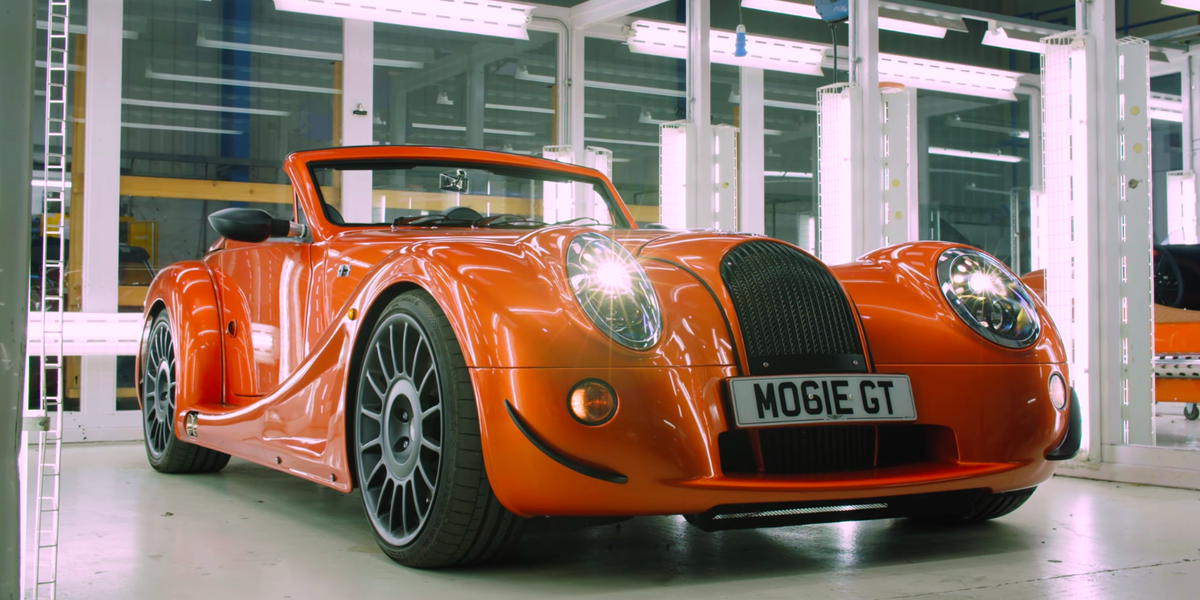 The Aero Gt Is The Perfect Send Off For Morgan S V8 Sports Car