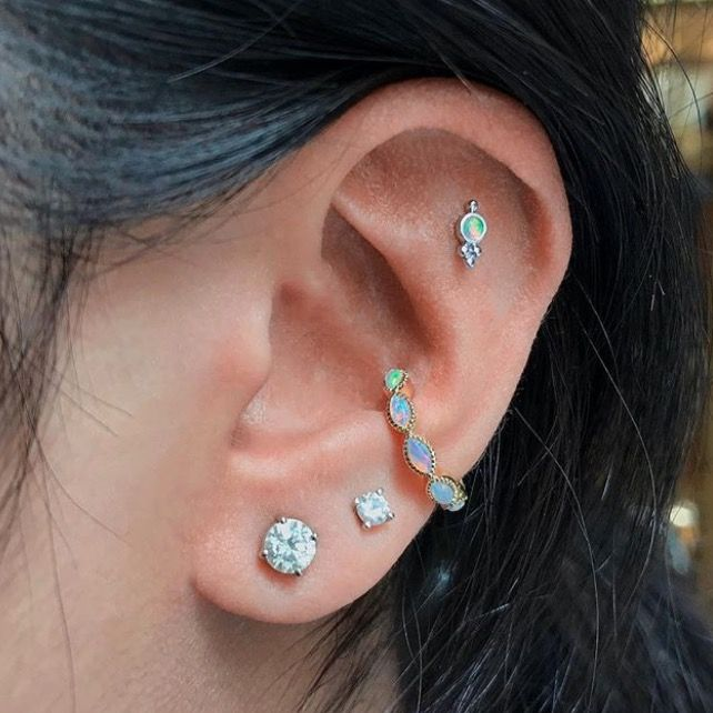 Ear Constellation Piercing Inspiration