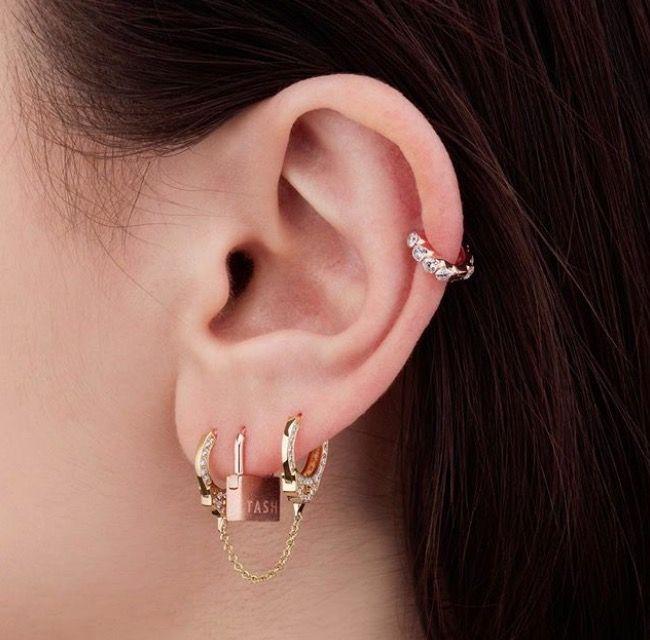 Ear Constellation Piercing Inspiration
