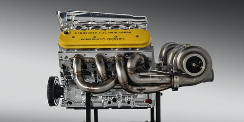 Hennessey Venom F5 Engine Specs 1600 Hp Hennessey Twin