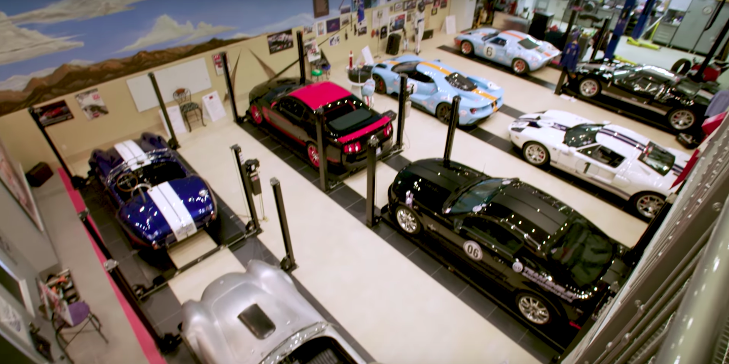 Check Out This Guy's Fanatical Ford Supercar Collection