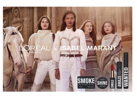 168e4aeb713 Exclusive: Isabel Marant on Her New Makeup Line with L'Oréal Paris.