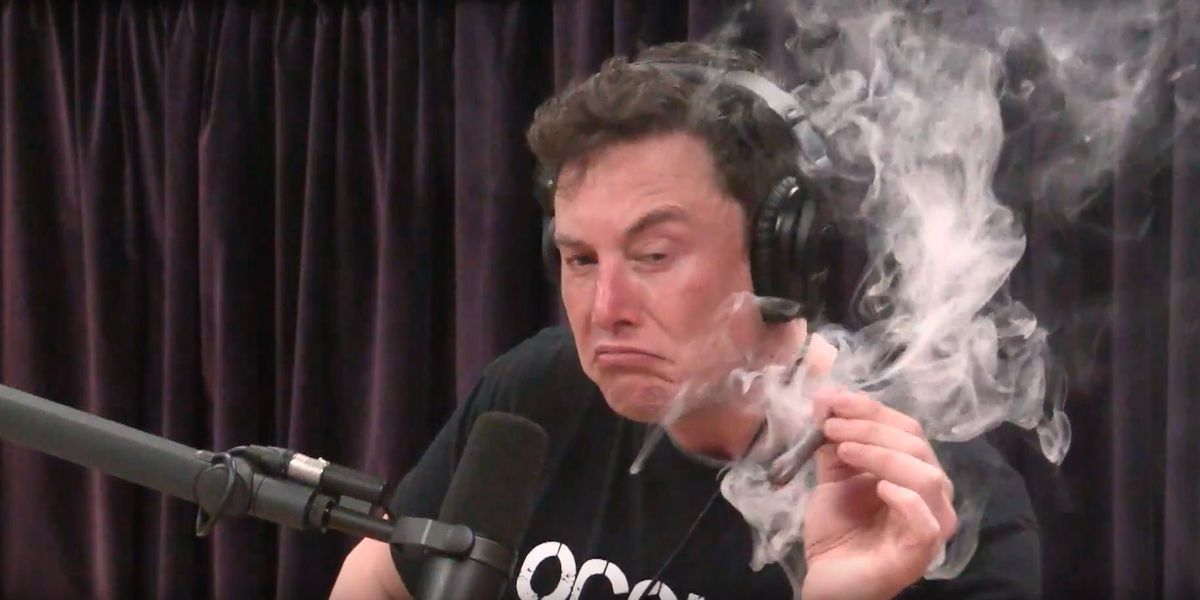 Elon Musk Has Smoked A Fat Joint And Talked About His