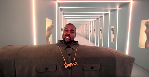 Watch Kanye West S Pornhub Awards Debut Of I Love It Music Video