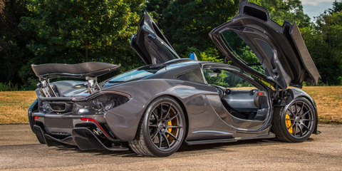 Jenson Button Is Selling His Mclaren P1 F1 Driver S P1
