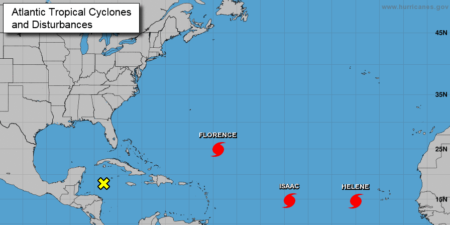 hurricane florence monday