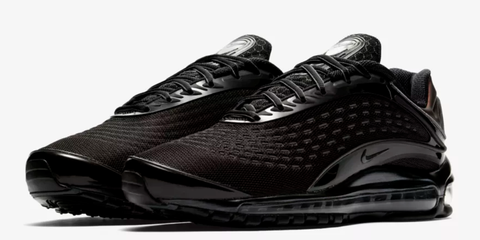 meet ea4e1 efcdd Nike Air Max Deluxe Triple Black - New Nike Shoes 2018