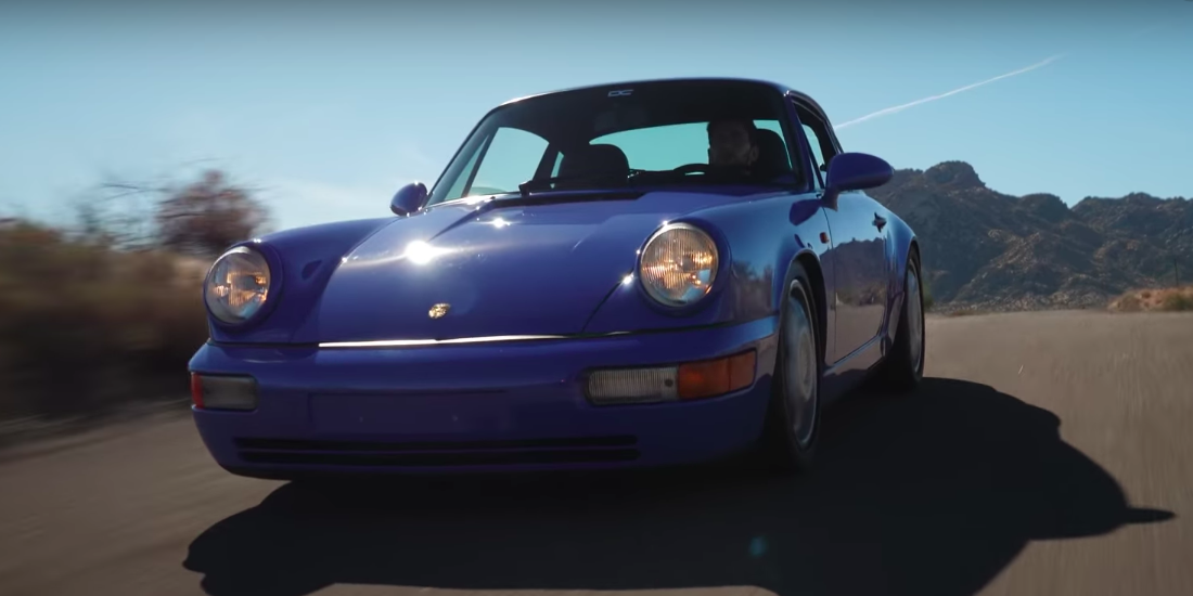 The Porsche 964 Carrera RS Was Perfect Right Out of the Box