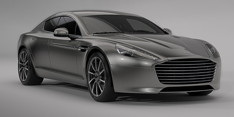 Aston Martins Electric Rapide Will Be More Powerful Than The V - Rapide aston martin