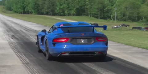 Here S What A Viper Acr Sounds Like With Two Turbos Attached