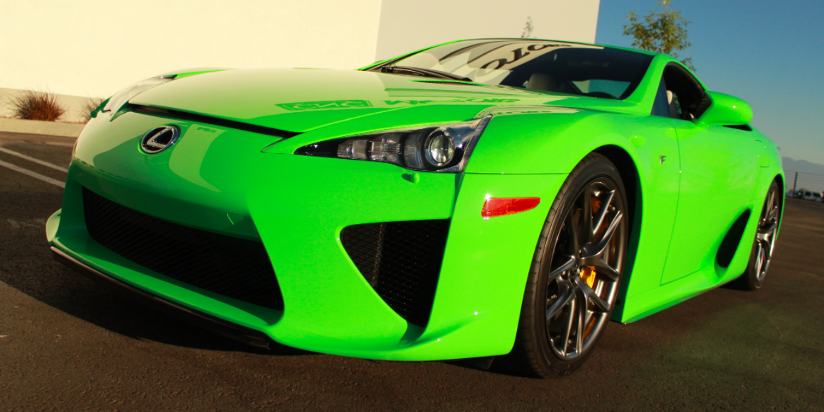 Ranger For Sale >> Green Lexus LFA for Sale for $700,000 - Rare Green Colored ...