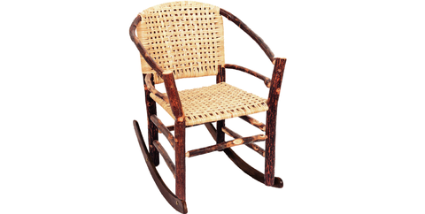 Chair, Furniture, Outdoor furniture, Wicker, Rocking chair, Plant, Armrest,