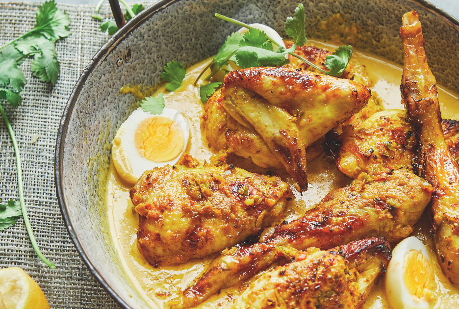 Try this coconut chicken curry recipe from the Together cookbook backed by the Duchess of Sussex
