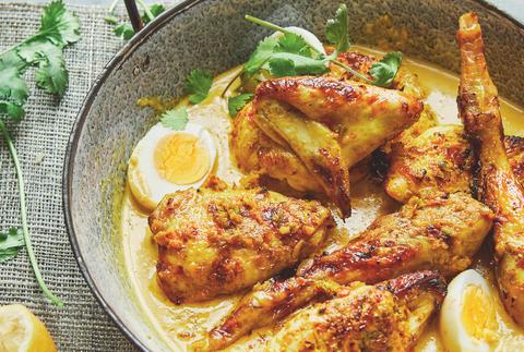 meghan markle cookbook coconut chicken curry recipe