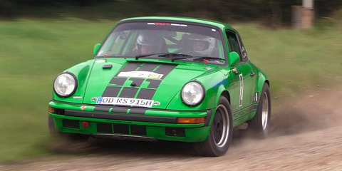 Air Cooled 911 Rally Car Onboard Video In Car Rally Video From