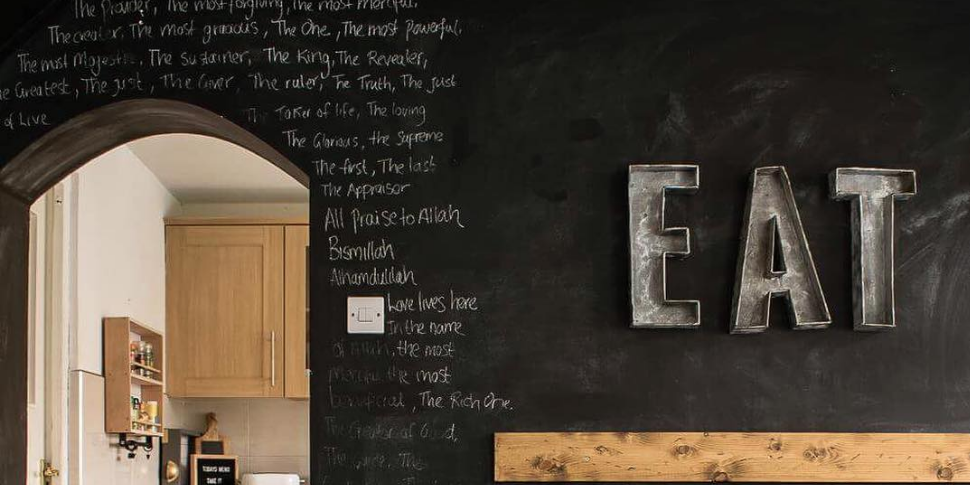glamorous chalkboard wall kitchen | 6 Things You Should Know Before Creating A Chalkboard Wall ...