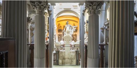 Yellow, Door, Architecture, Building, Arch, Basilica, Classical architecture, Facade, Convent, Interior design,