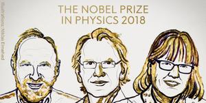 nobel prize physics 2018