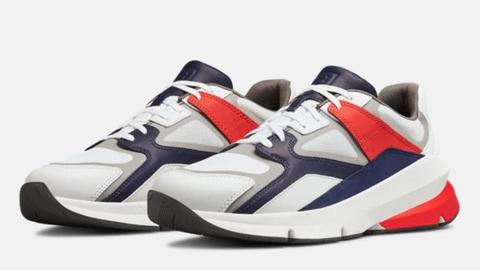 Shoe, Footwear, White, Sneakers, Black, Red, Walking shoe, Outdoor shoe, Product, Carmine,