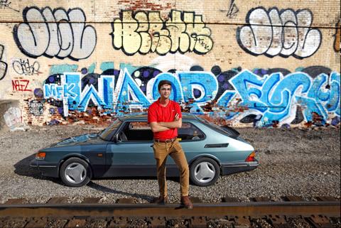 Regularity rally, Vehicle, Car, Art, Street art, Graffiti, Mural, Street, Advertising, Sedan,