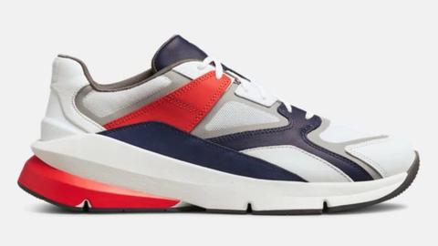 Shoe, Footwear, White, Sneakers, Product, Red, Outdoor shoe, Walking shoe, Carmine, Athletic shoe,