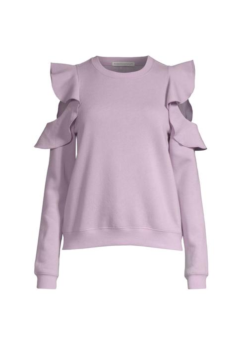 Clothing, Sleeve, White, Pink, Violet, Shoulder, T-shirt, Purple, Lilac, Lavender,