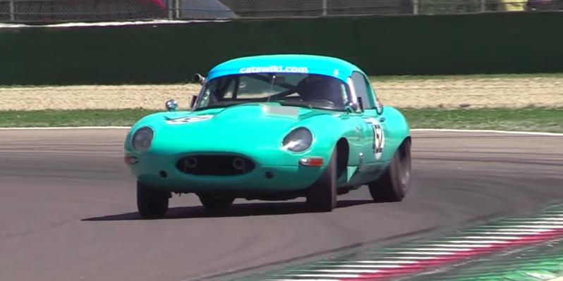 Drifting Vintage Race Cars Video Imola Historics