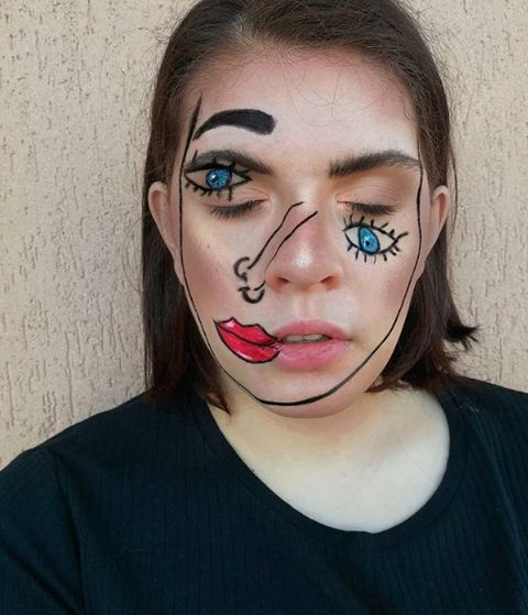 Easy Halloween Beauty Looks You Can Do With Products In Your Make Up Bag - Halloween-makeup