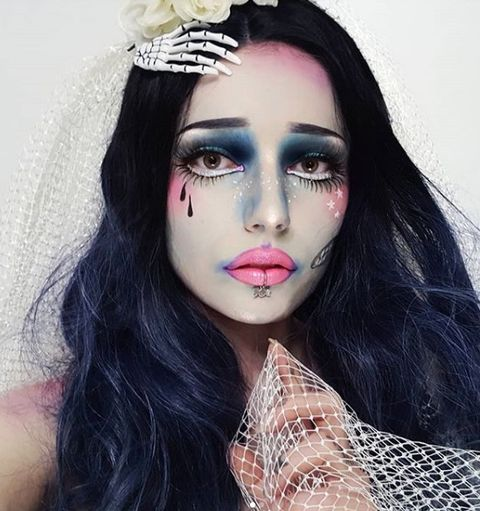 Easy Halloween Beauty Looks You Can Do With Products In Your