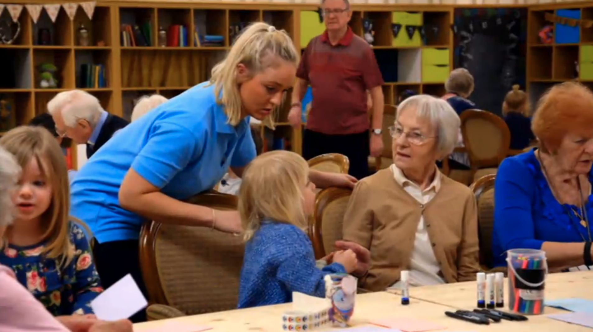 The first episode of Old People's Home For 4 Year Olds had Twitter in pieces