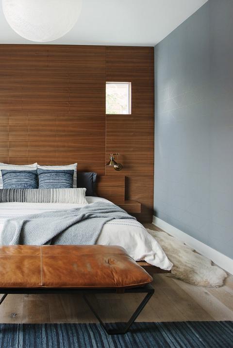 Courtesy Of Veneer Designs Combine Gray With Wood