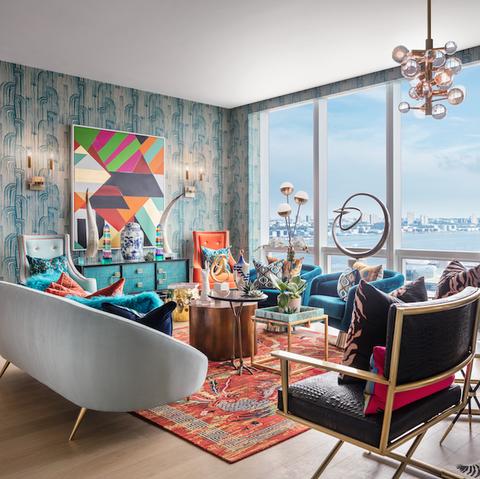 Living room, Room, Interior design, Property, Furniture, Building, Home, House, Real estate, Ceiling,
