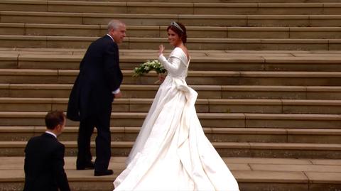 Princess Eugenies Royal Wedding Dress By Peter Pilotto Is Stunning