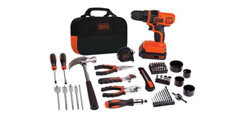 Handheld power drill, Tool, Drill accessories, Set tool, Machine, Impact driver, Impact wrench, Grinder, Hammer drill, Screw gun,