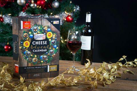 cheese advent calendar. Black Bedroom Furniture Sets. Home Design Ideas