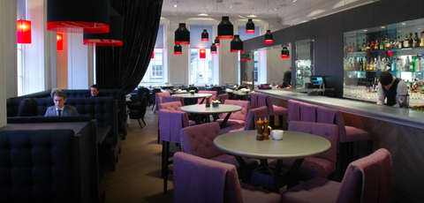 Restaurant, Building, Interior design, Room, Function hall, Bar, Architecture, Cafeteria, Furniture, Table,