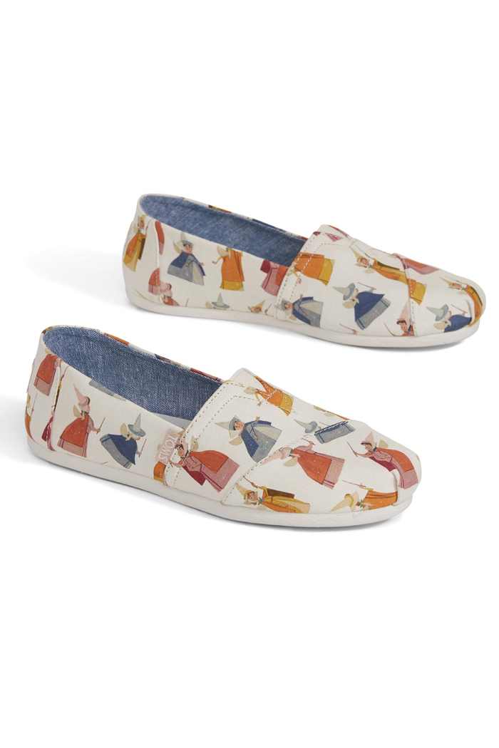 Disney gifts for adults Sleeping Beauty TOMS