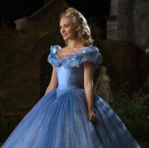 Lily James in Cinderlla