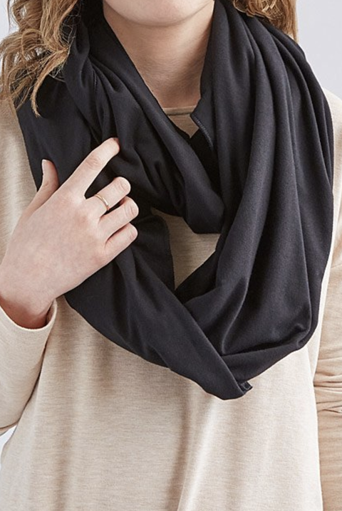 Travel Gifts for her - Convertible Travel Pillow Infinity Scarf