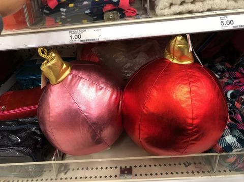Christmas ornament, Red, Christmas decoration, Holiday ornament, Ornament, Bowling equipment, Bowling ball,